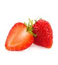 aufgeschnittene Erdbeere